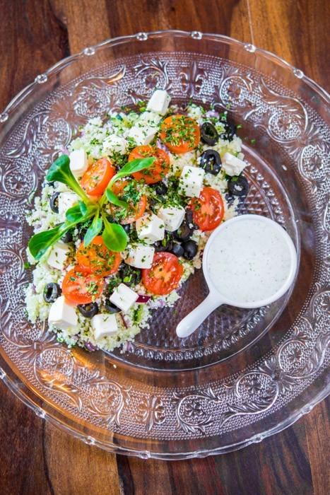 Ensalada de couscous